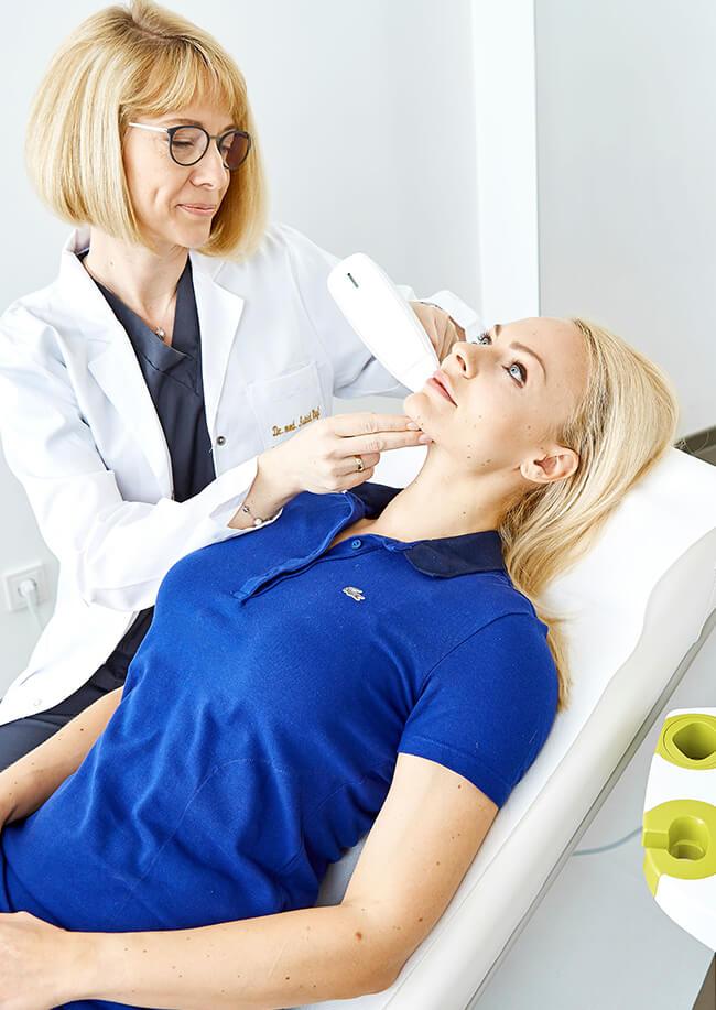 Aknenarben entfernen, Aknenarben behandeln, Aknenarben lasern, Akne behandeln, Akne Behandlung Linz bei Kollerbeauty