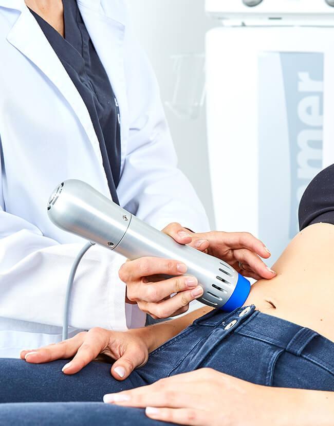 Cellulite Behandlung Linz, Stoßwellen Therapie