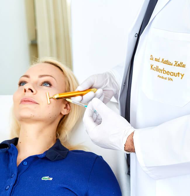 Faltenunterspritzung – die effektive Behandlung mit Hyaluron bzw. Hyaluronsäure