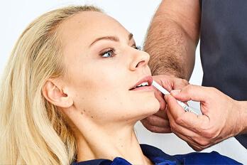 Kollerbeauty Behandlungen Lippen aufspritzen