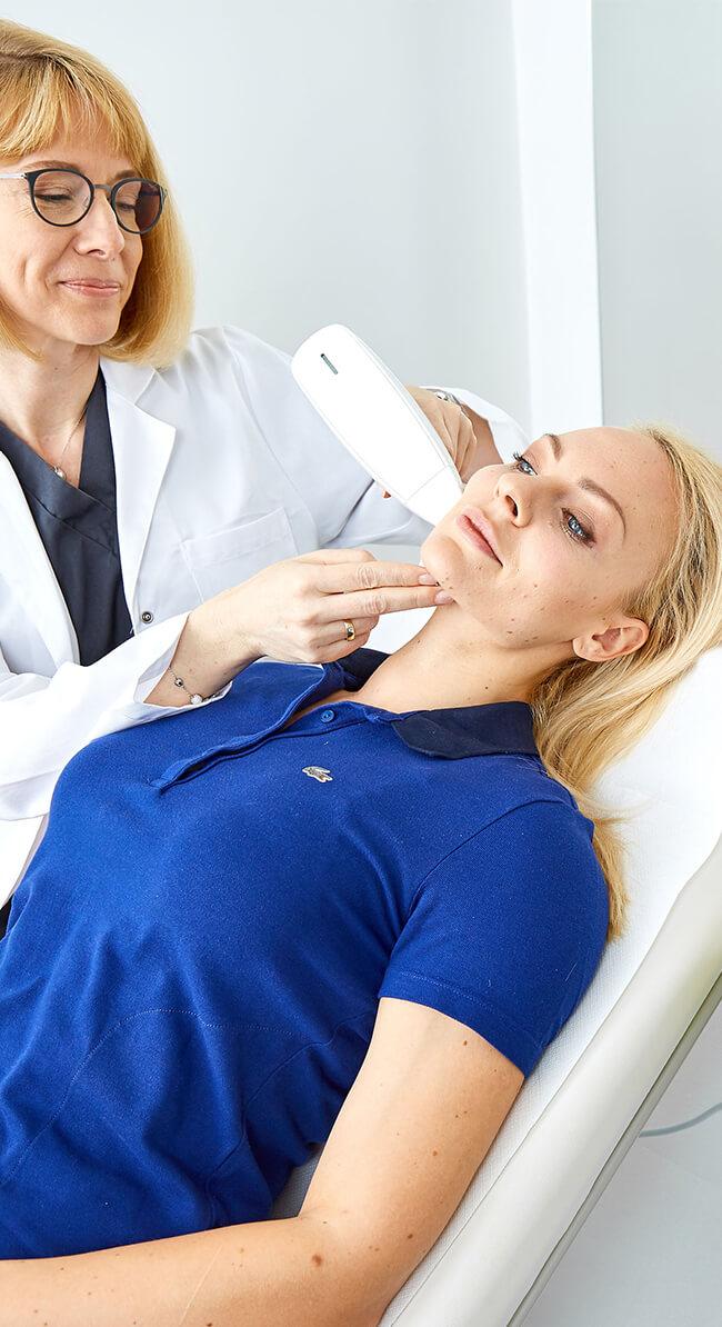 Laser Haarentfernung in Linz. Dauerhafte Haarentfernung Linz durch Lasertherapie