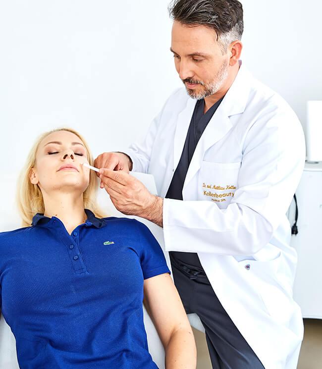 Narben entfernen Linz, Laser und Filler Narben Behandlung Linz Kollerbeauty